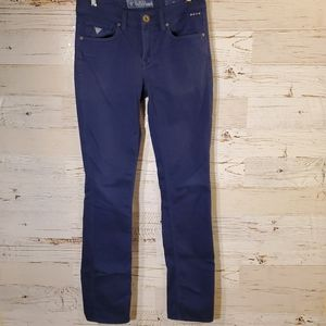 GUESS adorable blue skinny jeans